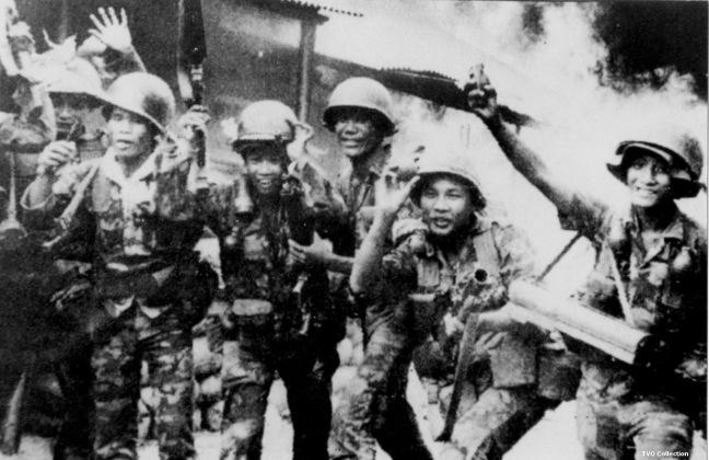 Cac chien si nhay du tai chiem Quang Tri nam 1972