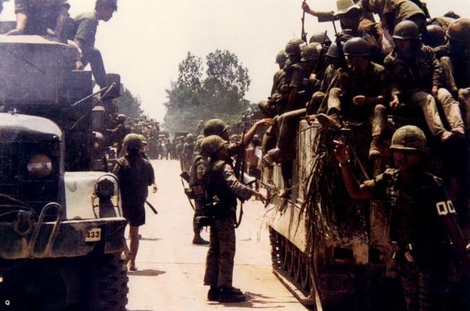 TQLC trong cuoc hanh quan tai cjhiem Quang Tri nam 1972