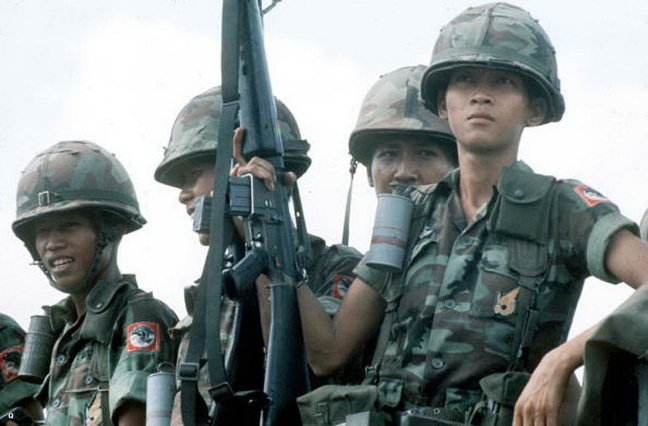 War of Vietnam. The last soldiers of the just Sout