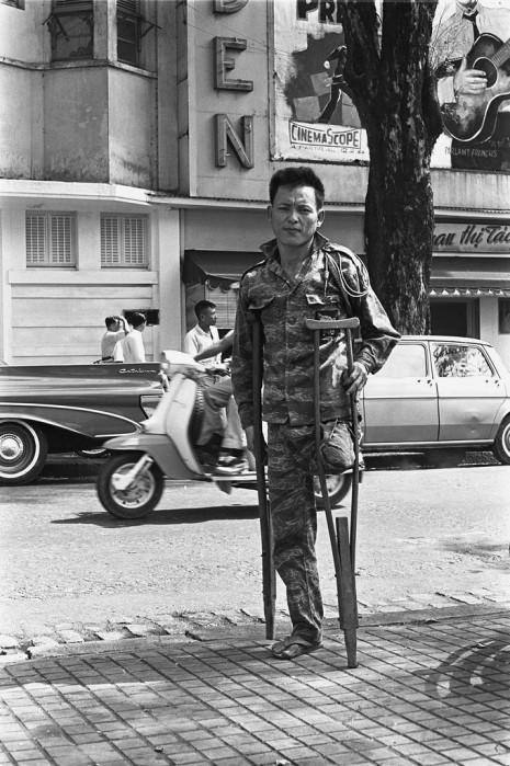 Mot thuong phe binh TQLC tai Saigon nam 1971