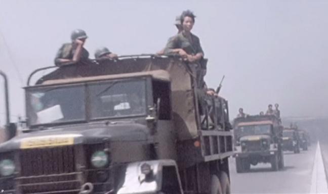 Chuyen quan tiep vien tran Xuan Loc thang 4 nam 1975