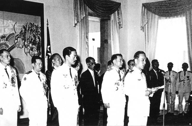 Tổng Thống Nguyen Van Thieu va Pho tong thong Nguyen Cao Ky, Đệ Nhị Cộng Hòa VNCH nam 1967
