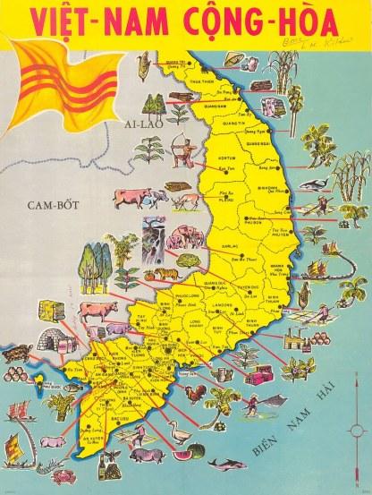 Ban do Quoc Gia Viet Nam Cong Hoa